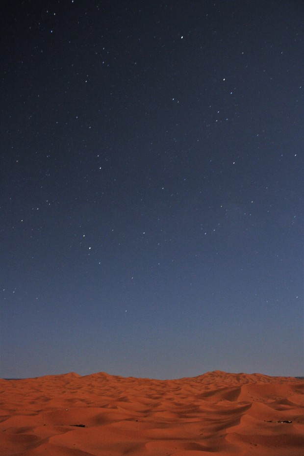 Stars in the Sahara